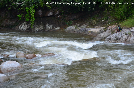 Jeram Sungai Kampar Kg Sungai Itek, Gopeng