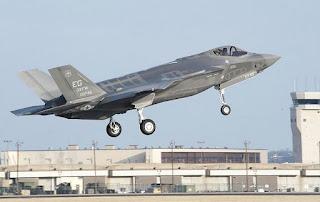 Jet Tempur Siluman F-35A