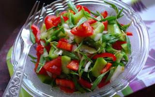 Zahter (Taze Kekik) Salatasi