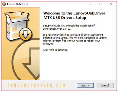 MTK USB Drivers Lenovo All Versions