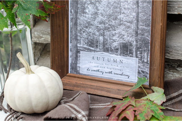 starting over in the fall | over 25 free fall printables and vignettes