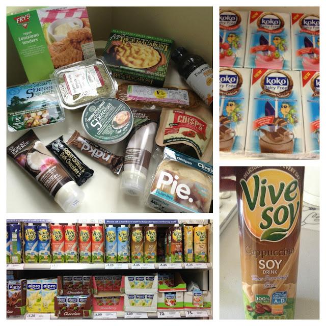 Vive Soy Sheese Desert Essence Fry's Koko Clive's Pies Vegan Dairy Free