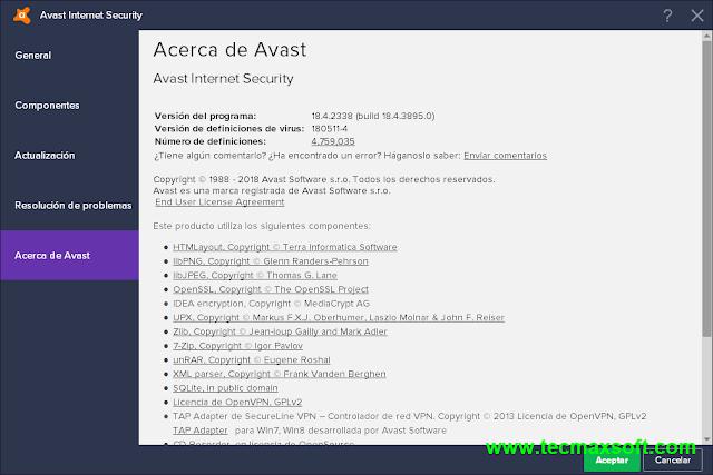 Descargar Avast Internet Security 2018 MEGA captura 6
