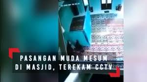 2 Sejoli Mahasiswa IAIN Lakukan Hubungan Haram di Masjid Terekam Kamera CCTV, Ini Kata Pihak Kampus