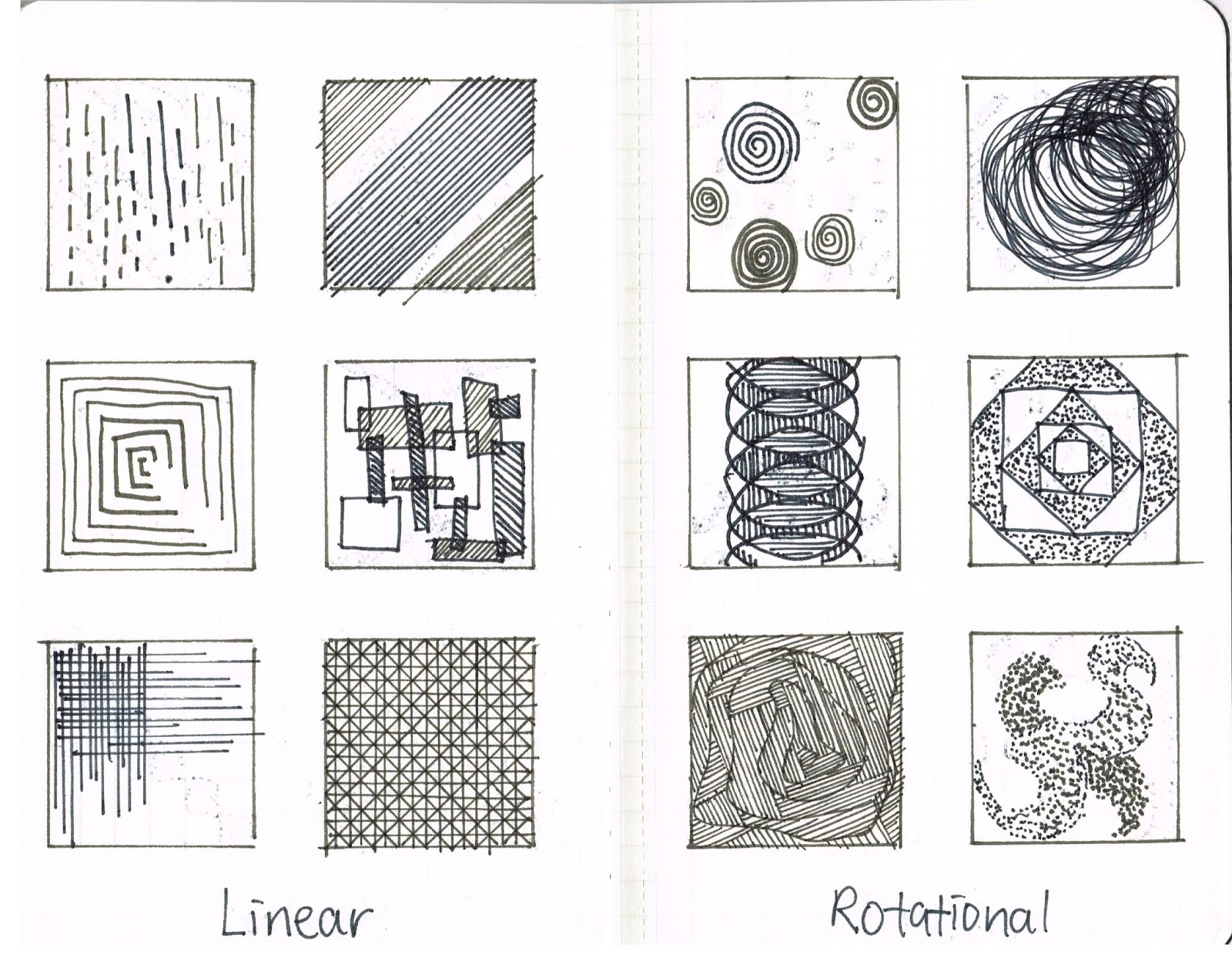 Texture Drawing Worksheets | Printable Worksheets and Activities for