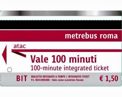 buenos días Roma - Billetes para el transporte público