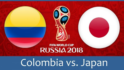 Live Streaming Colombia vs Japan Piala Dunia 19.6.2018