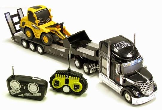 gambar truk remot mainan gandeng