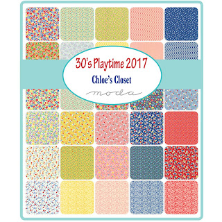 Moda 30's Playtime 2017 Fabric by Chloe's Closet for Moda Fabrics