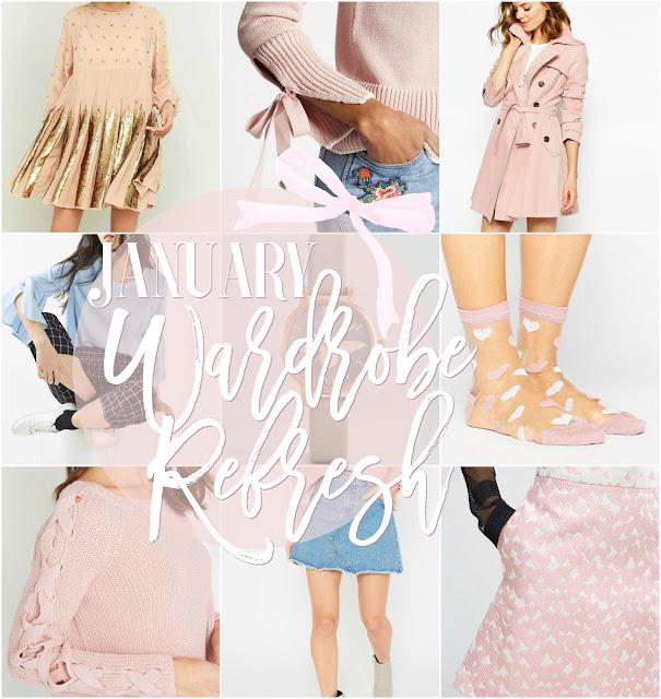 January Wardrobe Refresh Wishlist