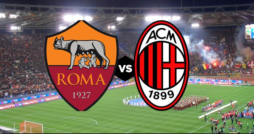 Vedere Roma Milan Streaming Rojadirecta.