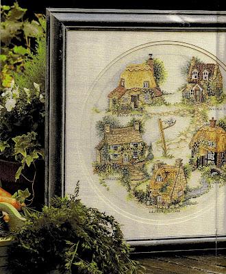 Schema punto a croce - Cottage