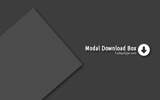 Cara Membuat Modal Download Box