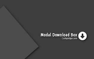 Cara Membuat Modal Download Box