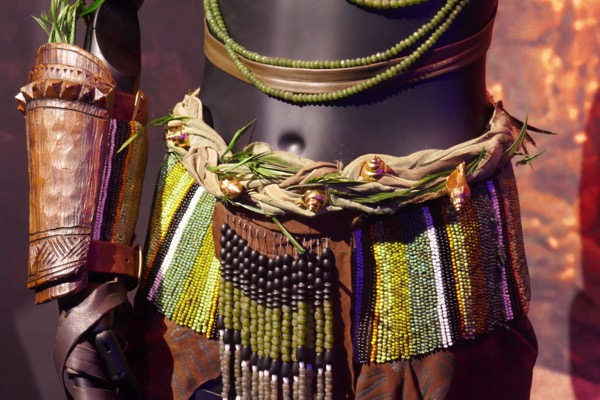 Nakia River Tribe costume detail Black Panther