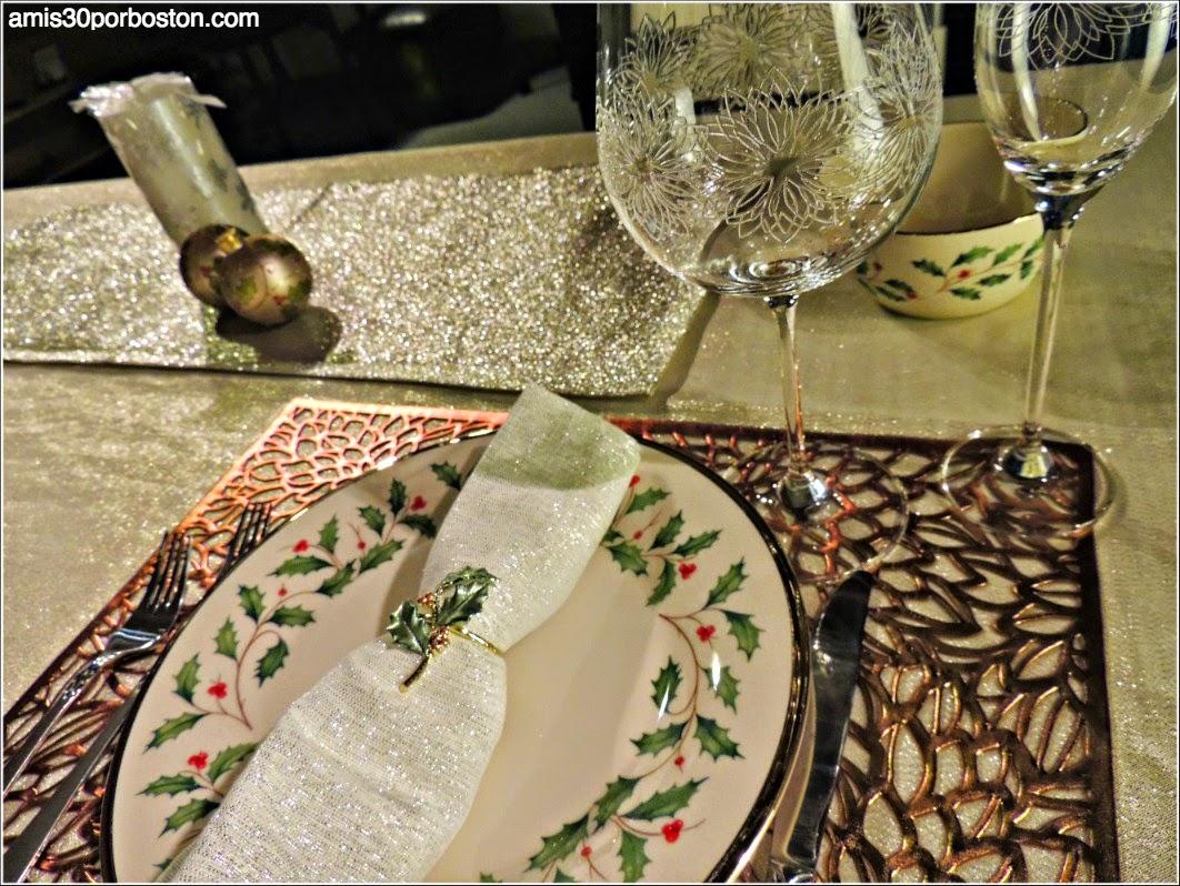 Menú Cena de Noche Vieja: Vajilla Lenox