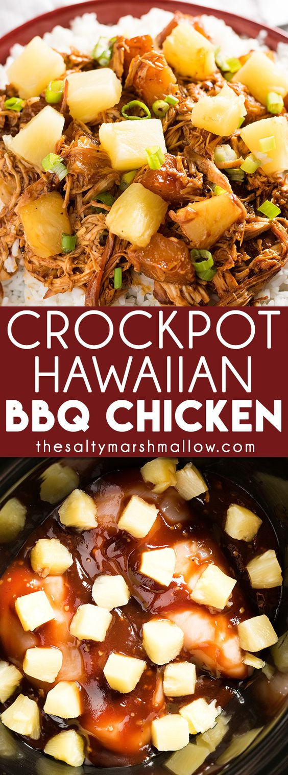 Easy Hawaiian BBQ Chicken