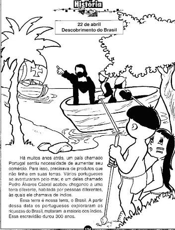 Blog Professor Zezinho Atividades Sobre O Descobrimento Do Brasil