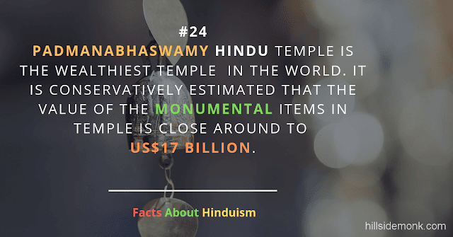 Fact About Hinduism 24 PADMANABHASWAMY TEMPLE