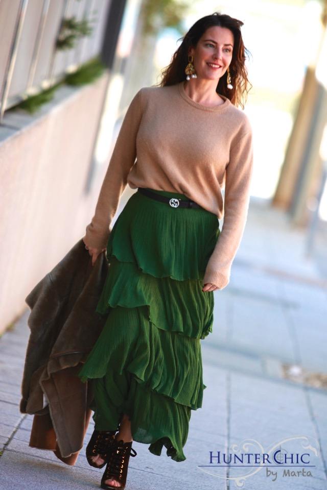 marta halcon de villavicencio-hunterchic by marta-como combinar falda volantes-prueba decolor
