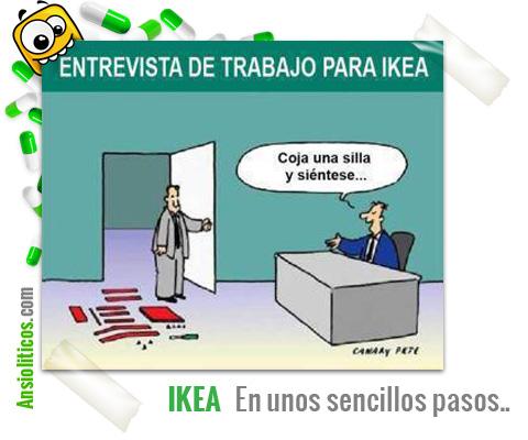 Chiste de Ikea: Entrevista de trabajo