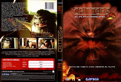 Cover, dvd, carátula: Critters 2 | 1988 | Critters 2: The Main Course