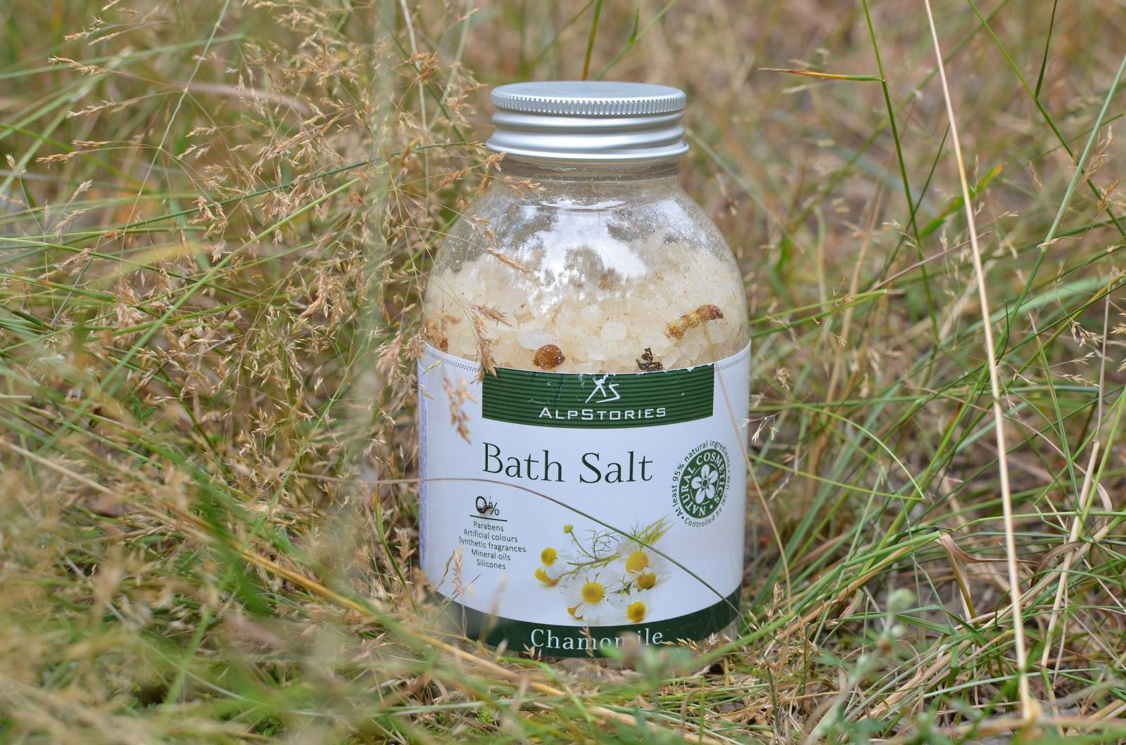 AlpStories Соль для ванн  Ромашка - Bath Salt Chamomile