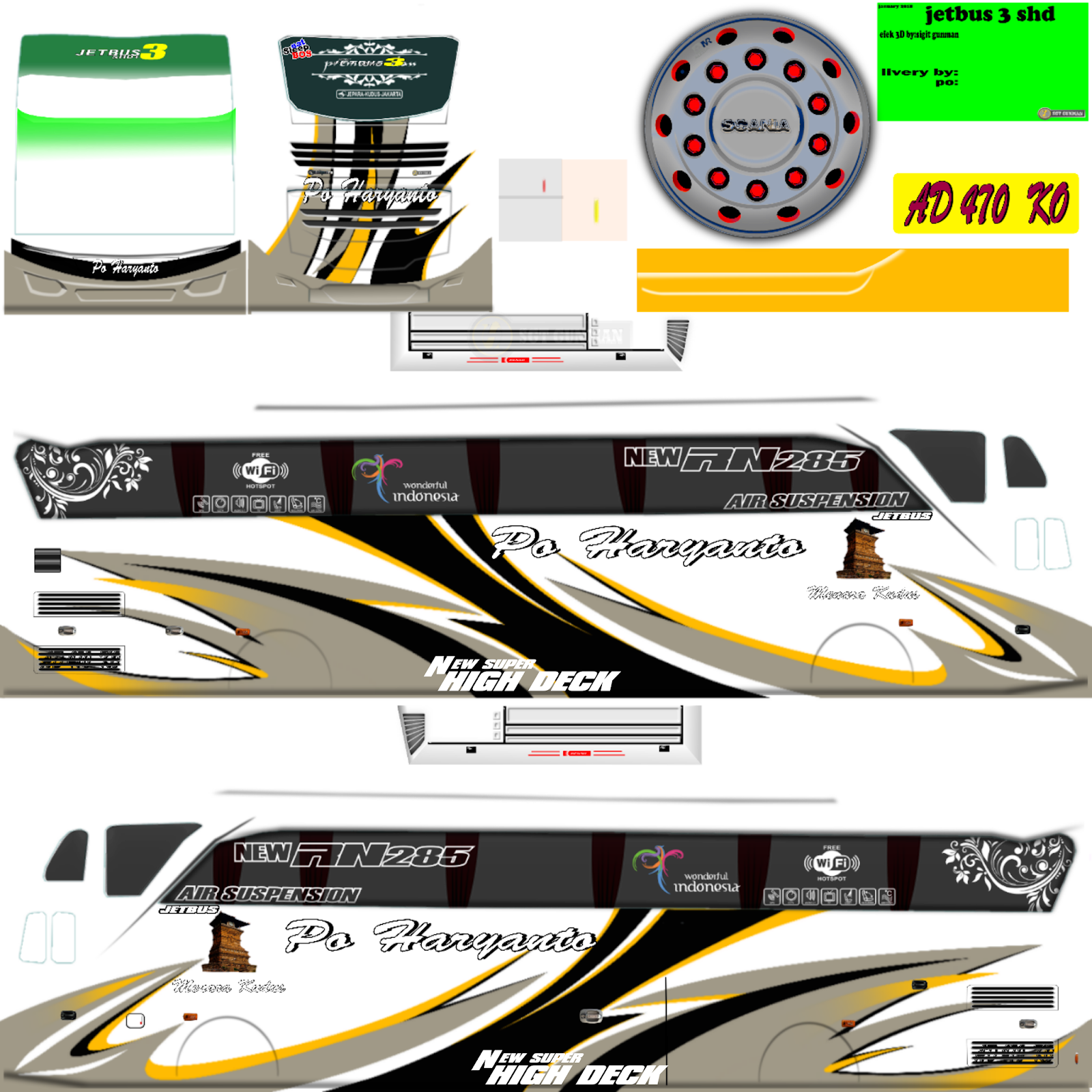 Summary Livery Bus Persib Baru Png Images Www Stargate