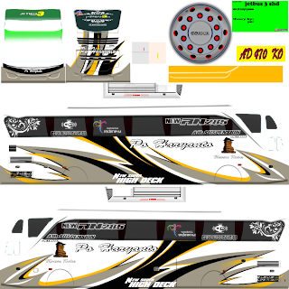Permalink ke Download Koleksi Livery Bus Simulator Indonesia Keren 4