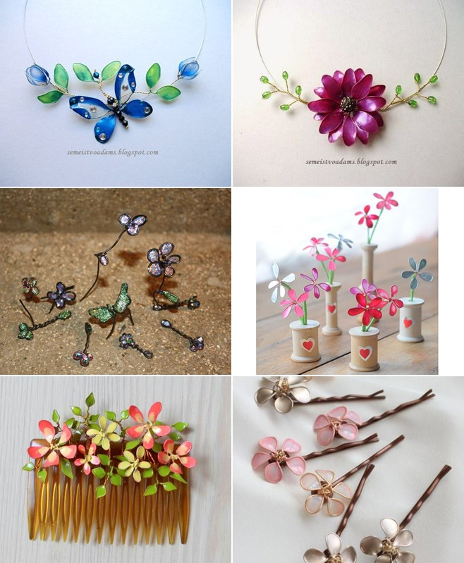 Wire Jewelry Flower Nail Polish Gardening Flower And Vegetables