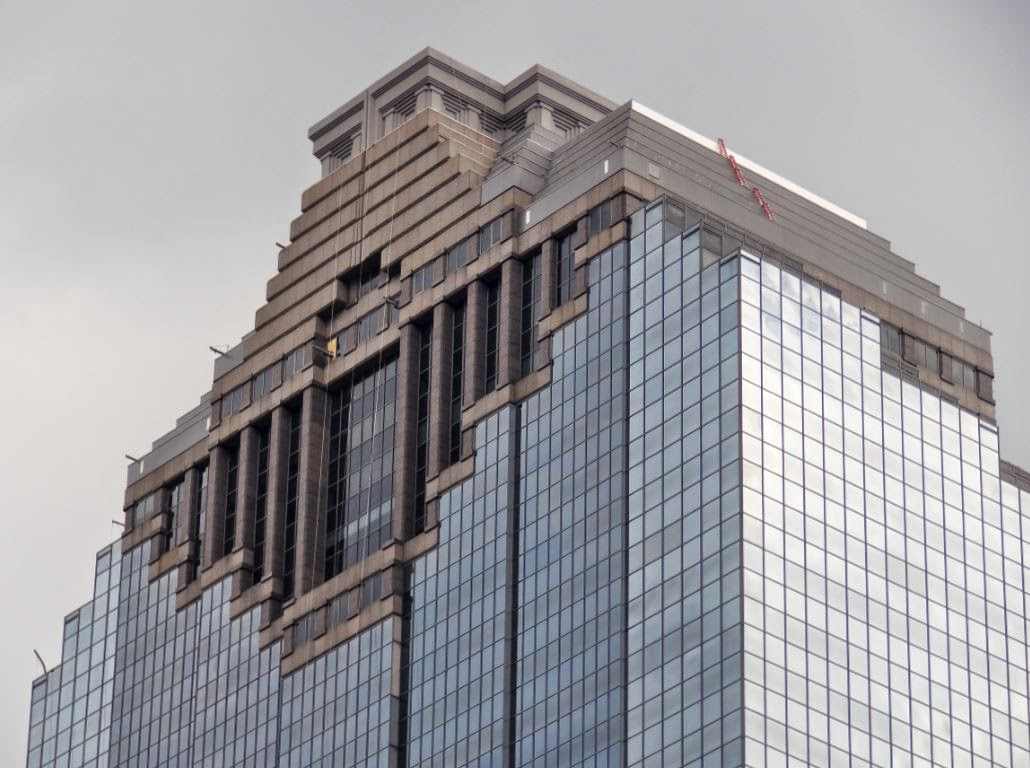 Houston In Pics Skyscraper Window Cleaning
