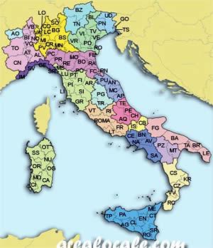 Sigle provincia la sigla di tutte le 110 province italiane for Nomi delle donne della politica italiana