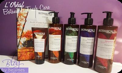Les shampooings et soins BotanicalsFresh de l'Oreal
