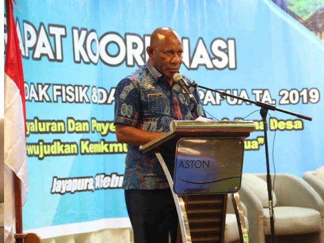 Pemprov Papua Optimis 100 Persen Realisasi Penyerapan DAK Fisik 2019