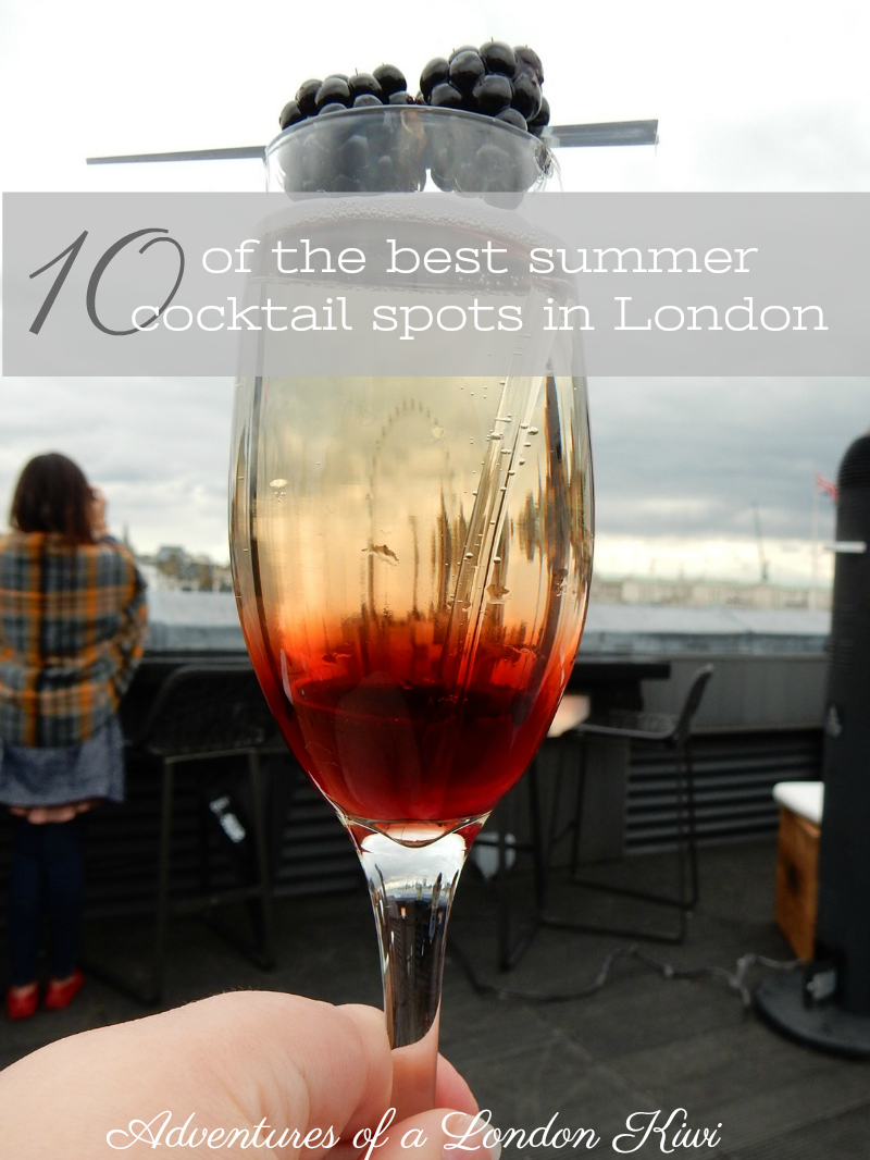 10 of the best London summer cocktail bars Adventures of a London Kiwi