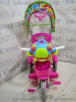 Sepeda Roda Tiga Royal RY3082C UFO Musik Dobel Kanopi
