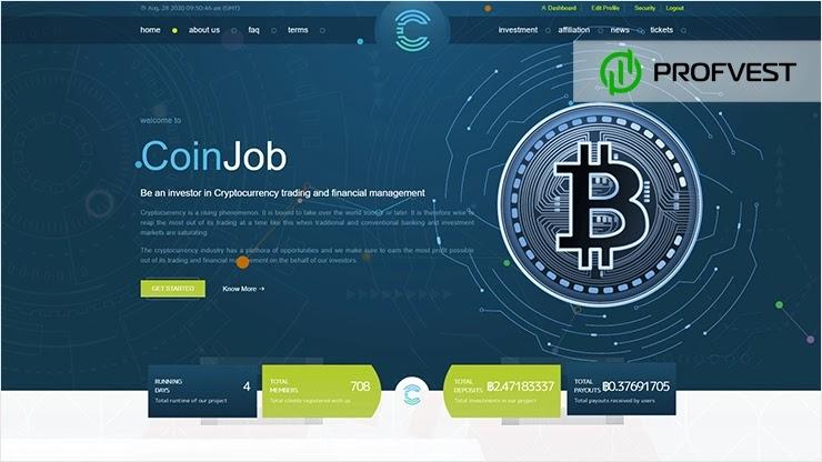 Coinjob обзор и отзывы HYIP-проекта