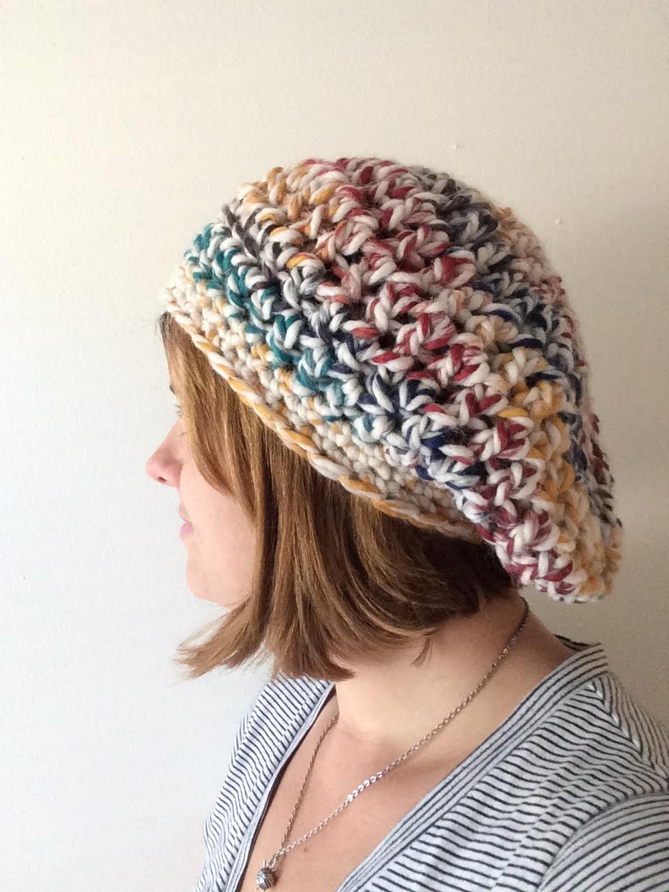 A Hermits Wish: Chunky Slouchy Beret Pattern