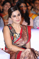 Tapsee Pannu Latest Stills in Red Silk Saree at Anando hma Pre Release Event .COM 0085.JPG