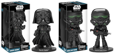 Star Wars: Rogue One Wobblers Bobble Heads Series 2 by Funko – Darth Vader & Imperial Death Trooper