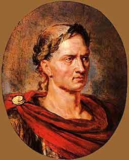 A short biography of the roman general and leader julius caesar
