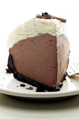 No Bake Chocolate Truffle Pie Recipe – V Ingredients