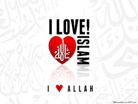 wallpaper cinta allah