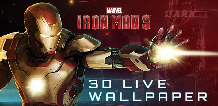 apk mods iron man 3 live wallpaper full apk v10