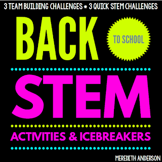 Back to School STEM Activities and Icebreakers - Meredith Anderson Momgineer