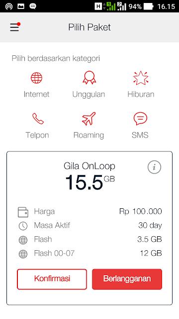 Aplikasi MyTelkomsel