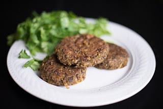 Black or dupuy lentils go best in burgers.
