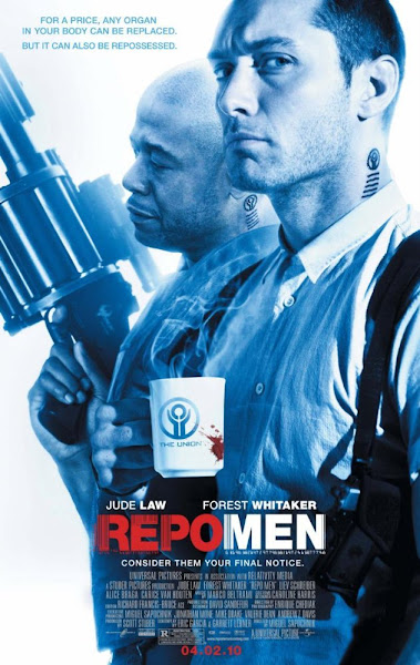 Poster Of Repo Men 2010 UnRated 720p Hindi BRRip Dual Audio Full Movie Download