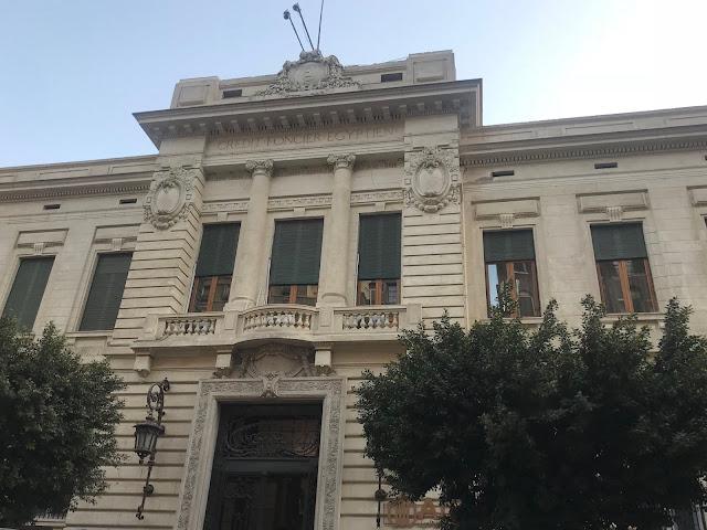 The Credit Foncier Egyptien bank