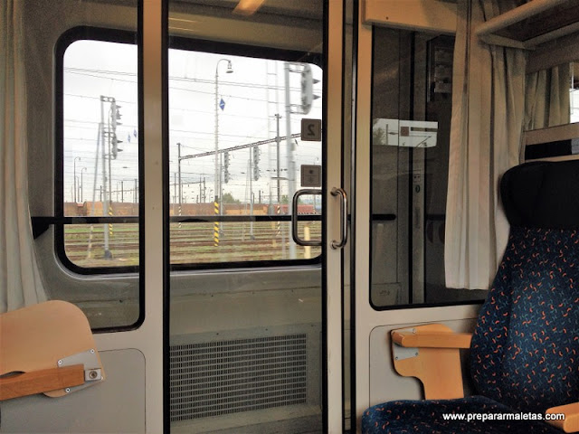 tren desde Bratislava a Budapest